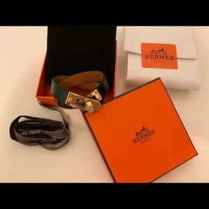 NEW Hermès Double Tour Bracelet